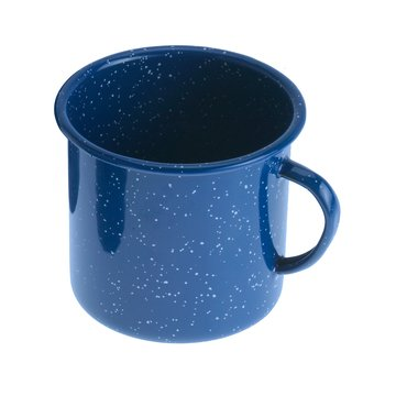 GSI Emaille-Tasse blau 350ml